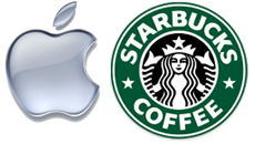[Apple Starbucks]
