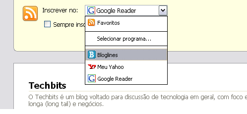 [RSS no Firefox 2]