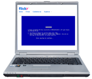 Flickr BSOD, by @gravehear