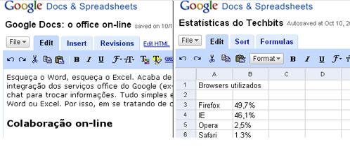 [Google Docs & Spreadsheet]