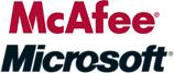 [McAfee vs Microsoft]