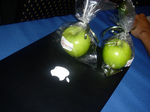 [Quem mexeu na minha maçã verde?]