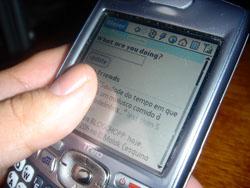 [Twitter no celular]