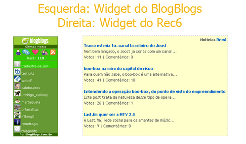 [Widgets do BlogBlogs e Rec6]