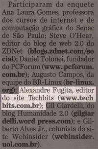 Folha e web 2.0