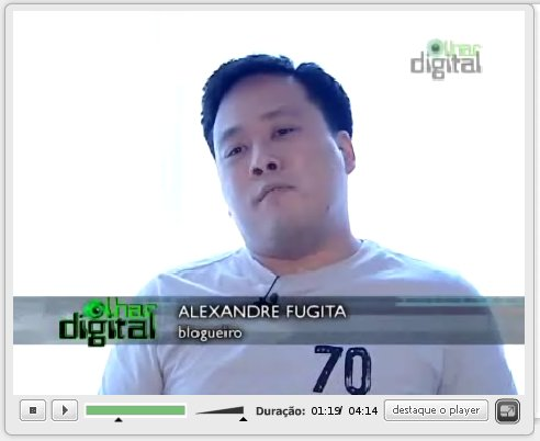 Programa Olhar Digital na Rede TV